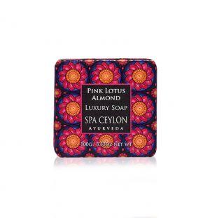 PINK LOTUS ALMOND - Luxury Soap 100g