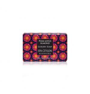 PINK LOTUS ALMOND - Luxury Soap 250g
