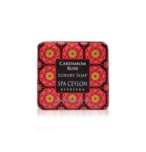 CARDAMOM ROSE - Luxury Soap 100g