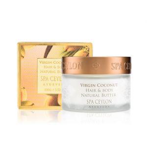 VIRGIN COCONUT - Hair & Body Natural Butter 100g