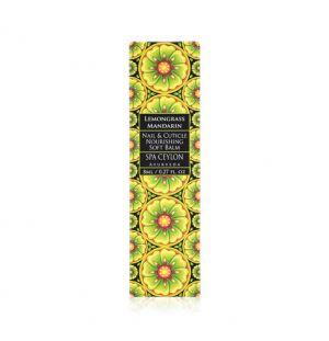 LEMONGRASS MANDARIN - Nail & Cuticle Nourishing Soft Balm