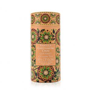 VANILLA CARDAMOM CHAI - Gourmet Black Tea - Silken Tea Bags