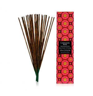 CARDAMOM ROSE - Aromaveda Incense Sticks