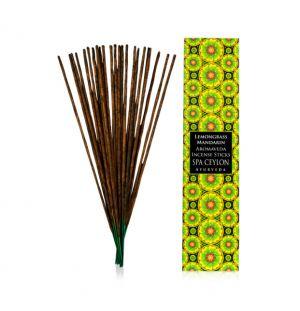 LEMONGRASS & MANDARIN - Aromaveda Incense Stick