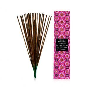 YLANG LAVENDER - Aromaveda Incense Stick