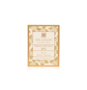 VIRGIN COCONUT 20% - Rich Body Cream 200g