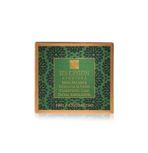 SKIN BALANCE - Moringa & Neem - Clarifying Clay Facial Exfoliator 100g