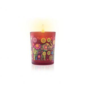 CEYLON ELEPHANT SPICED SANDALWOOD - Aromaveda Natural Candle 50g