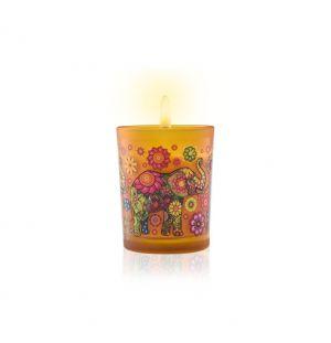 CEYLON ELEPHANT NEROLI JASMINE  - Aromaveda Natural Candle 50g
