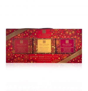 Luxury Soap Collection I (Floral Paradise Limited Edition)