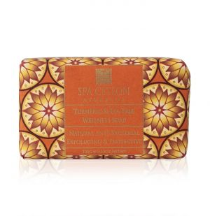 TURMERIC & TEA TREE - Anti-bacterial Exfoliating Wellness Soap 100g